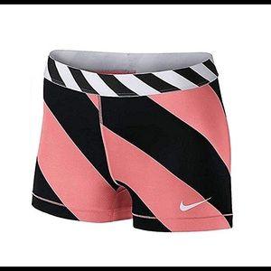 Pink and Black Nike Pro Shorts 💕🖤